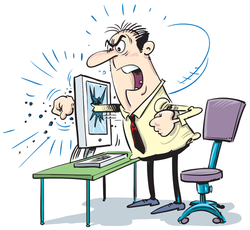 Emotions clipart disadvantage For monitor Disadvantage frustrated Many