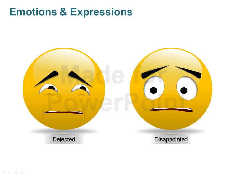 Emotions clipart disappointed face Expressions Illustrations PPT and Emotions