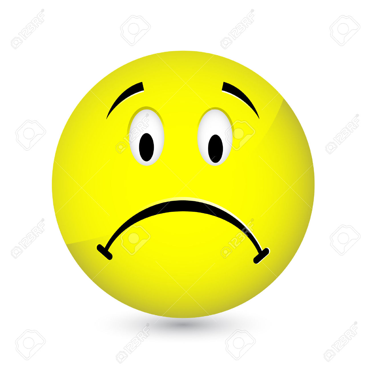 Emotions clipart disappointed face Face clipart Sad Crazy face