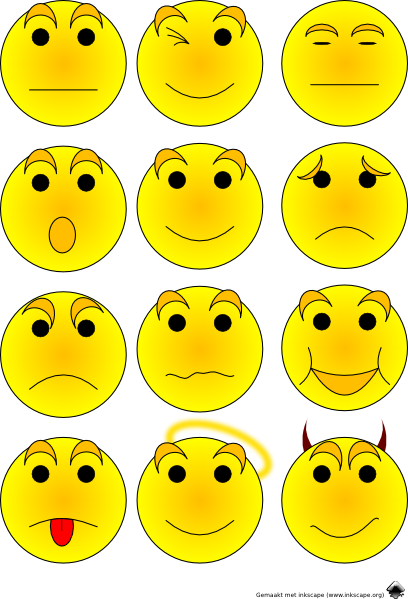 Feelings clipart emoticon Clip online this art as:
