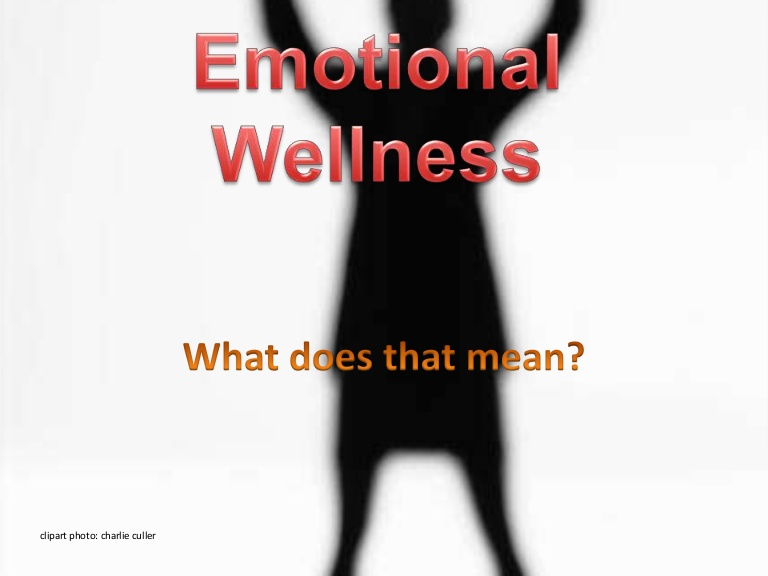 Emotions clipart emotional wellness  wellness Emotional
