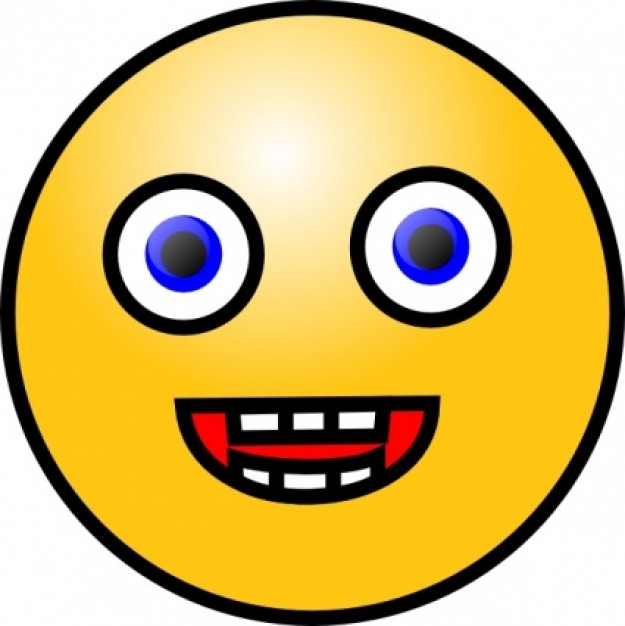 Worm clipart yellow  Face on Clipart Excited