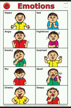 Emotions clipart face reaction Mix Autism Emotions on activities
