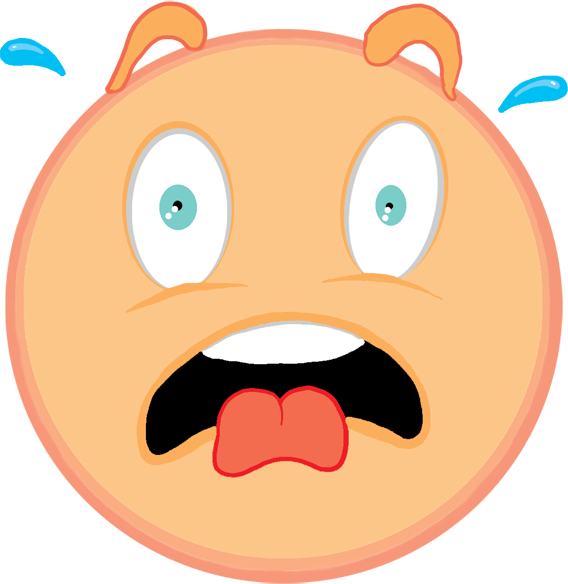 Emotions clipart fright Clip Perfect Emotions A Art:
