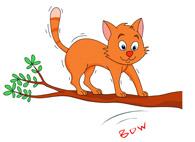Tree clipart cat #3