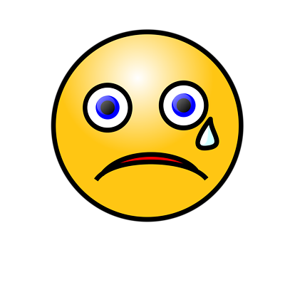 Emotions clipart frown Download Clipart Frowning  With