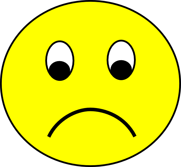 Emotions clipart frown Clip Art Big Free Smiley