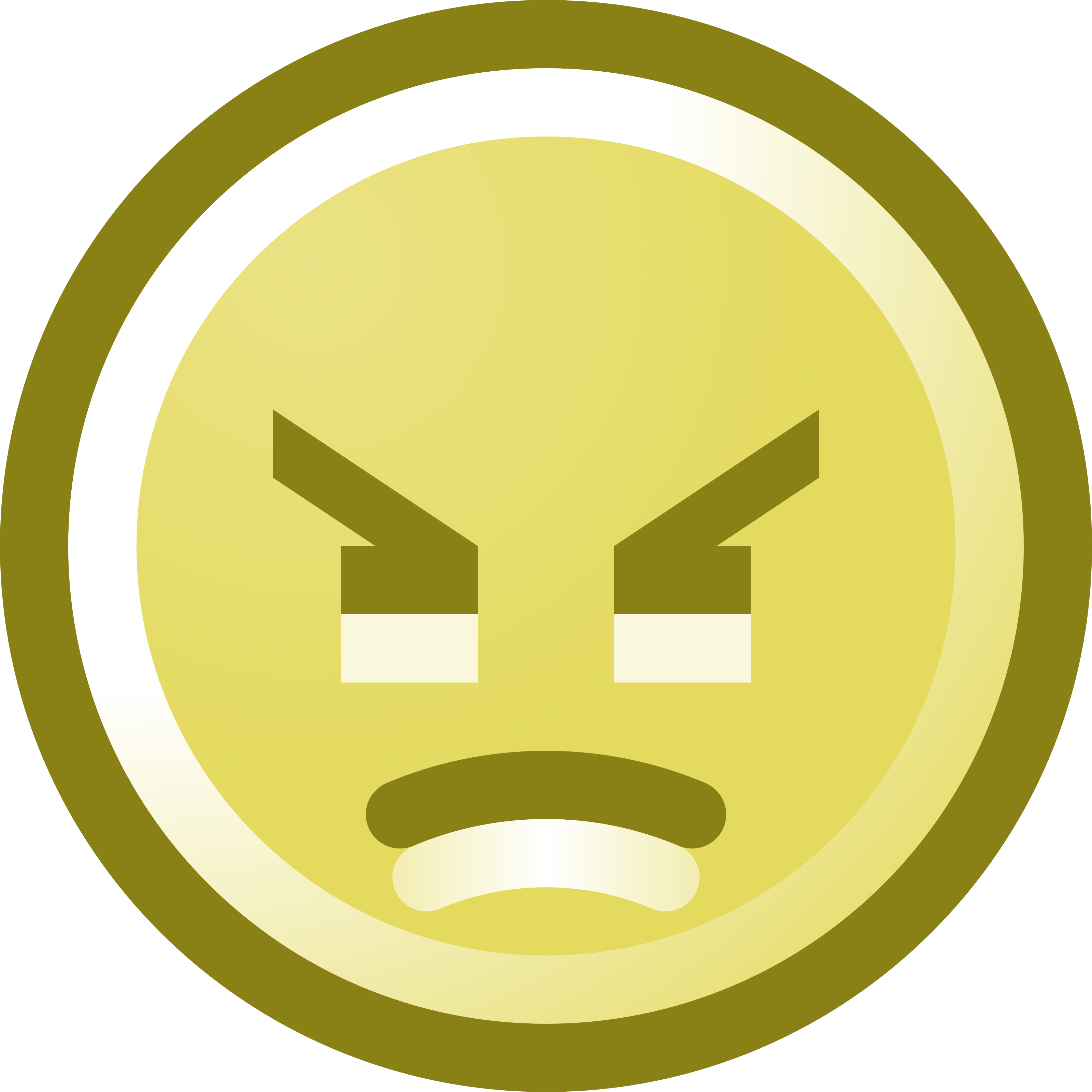 Smileys clipart upset Smiley clipart Face Angry art