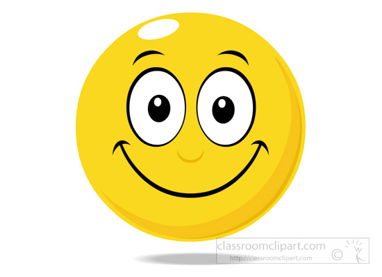 Smileys clipart happy emotion Clipart smiley happy 2 2