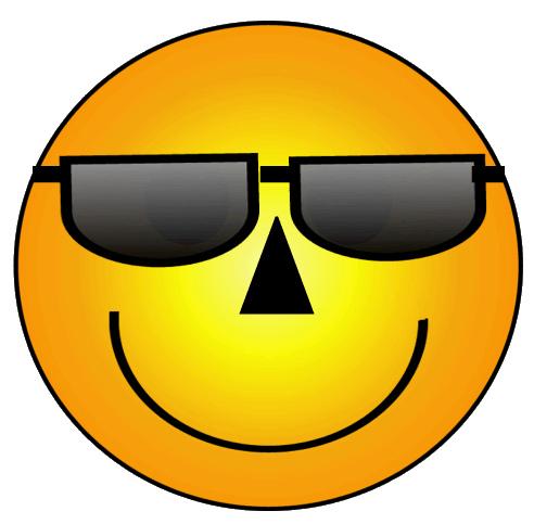 Smileys clipart sunglass Smiley art Smiley com clipart