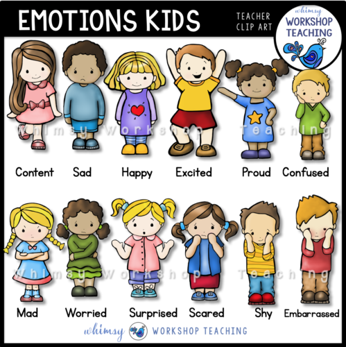 Emotions clipart happy group Kids Teaching Workshop at Whimsy