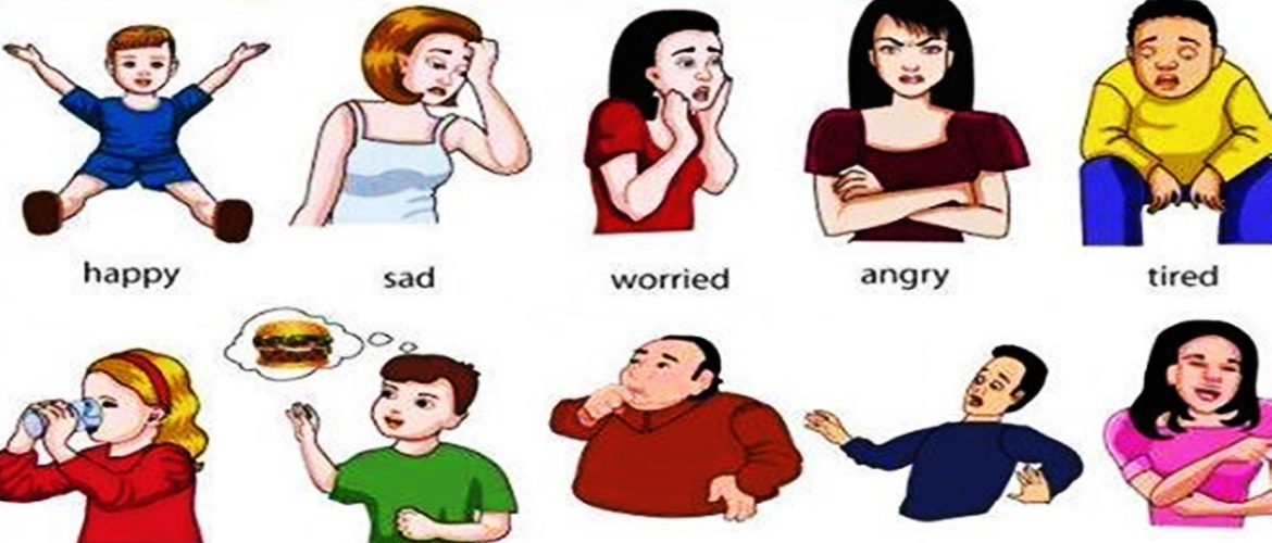 Emotions clipart happy group Feelings Conversations English Feelings Emotions
