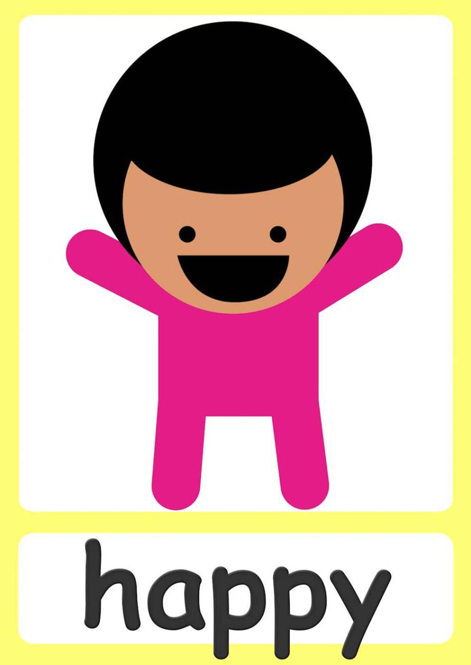 Feelings clipart preschool Free a for feelings fun