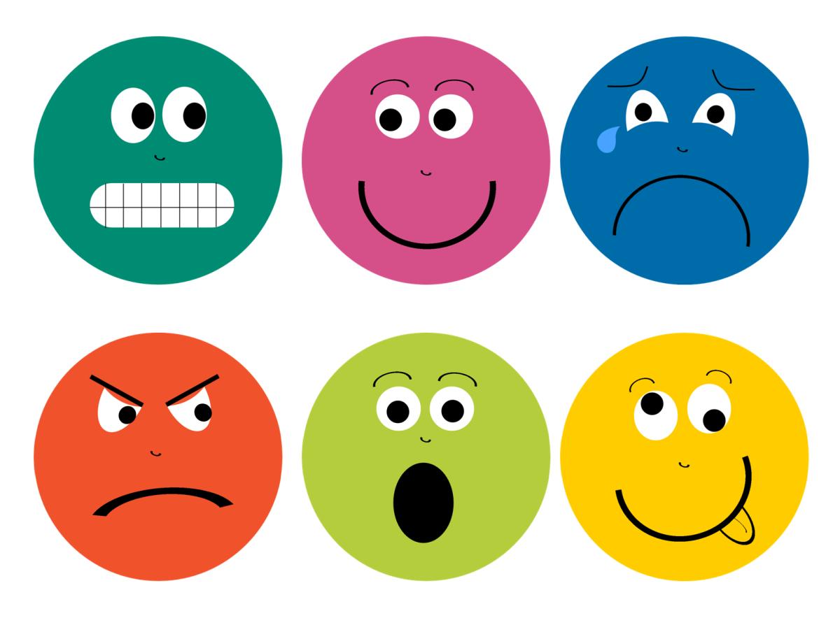 Feelings clipart emoticon Feelings Sunflower  Storytime Faces