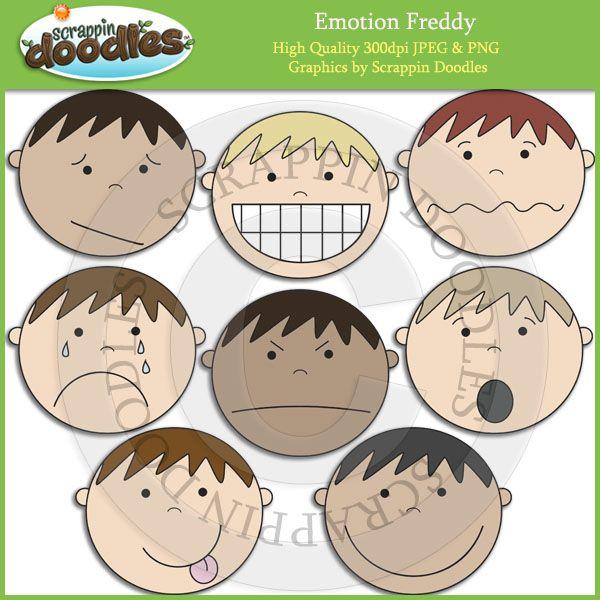 Feelings clipart preschool Emotions on Freddy Pinterest Pre