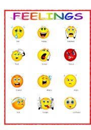 Feeling clipart printable Zone Emotions Cliparts Printable Feelings