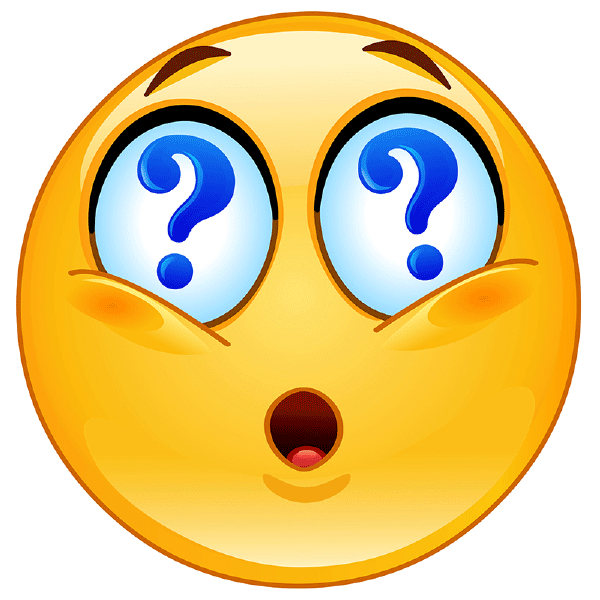 Emotions clipart question Up smiley emotions  Questionable