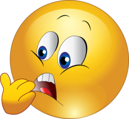 Smileys clipart scared Scared  emoticon smiley scared