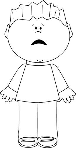 Emotions clipart scared face Emotions Emotions Scared Images Black