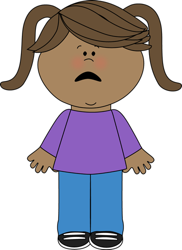 Feelings clipart scared Download Clip Woman Frightened Free