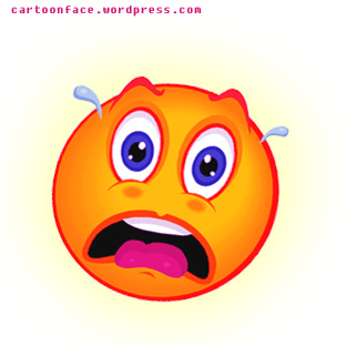 Emotions clipart scared person Scared Emotion cliparts Look Clipart