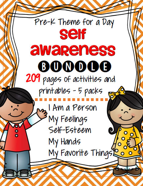 Feeling clipart self awareness Bundle Me About at Perfect