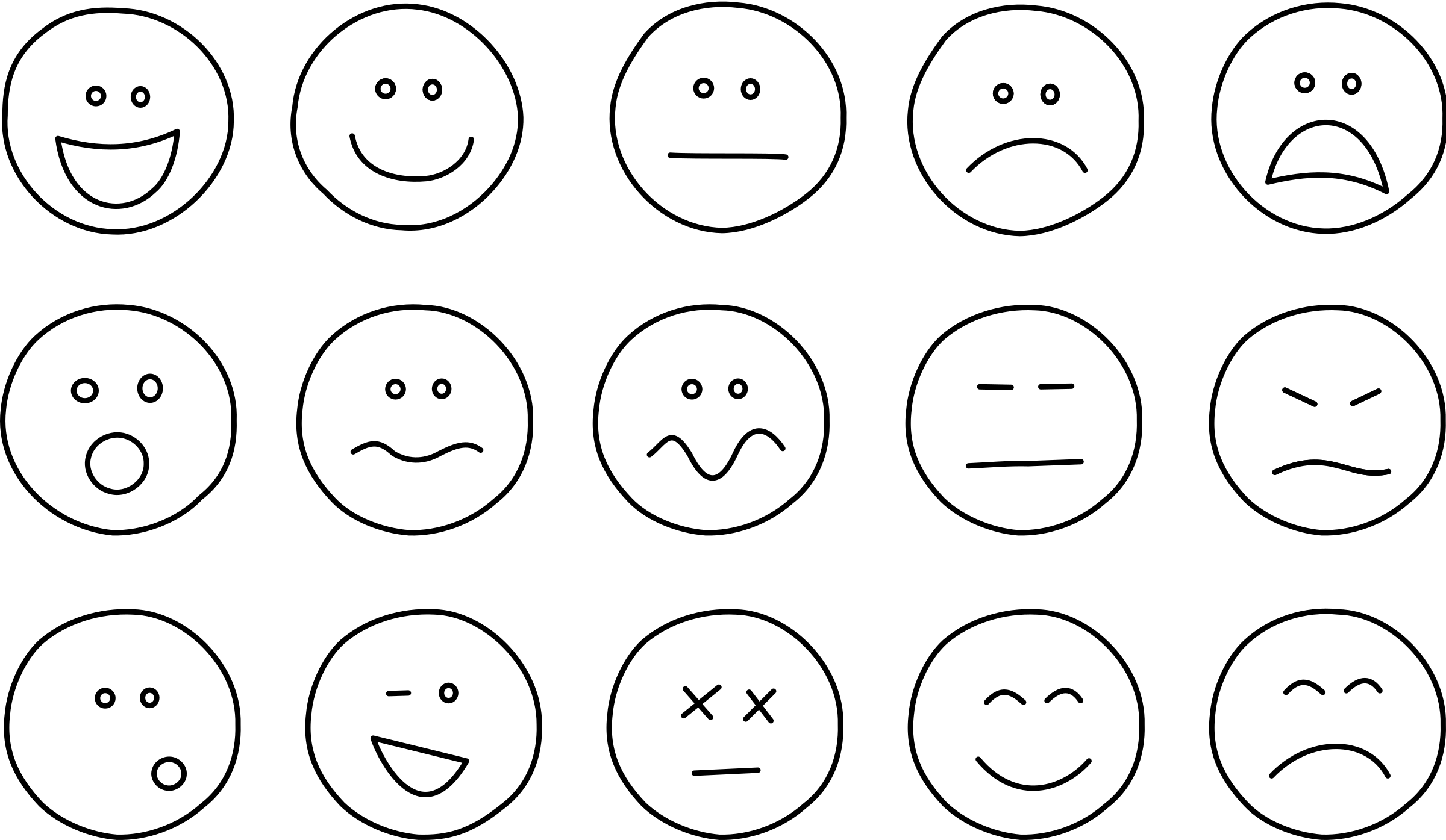 Emotions clipart simple Art Neutral Face – Face
