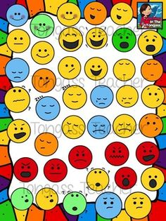 Emotions clipart simple Funny Clipart) printable Face face