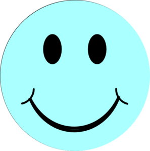 Smileys clipart blue Free  face clipart clip