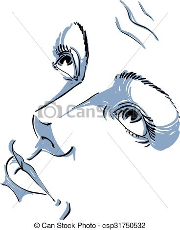 Emotions clipart sorry face Of black face drawn drawn