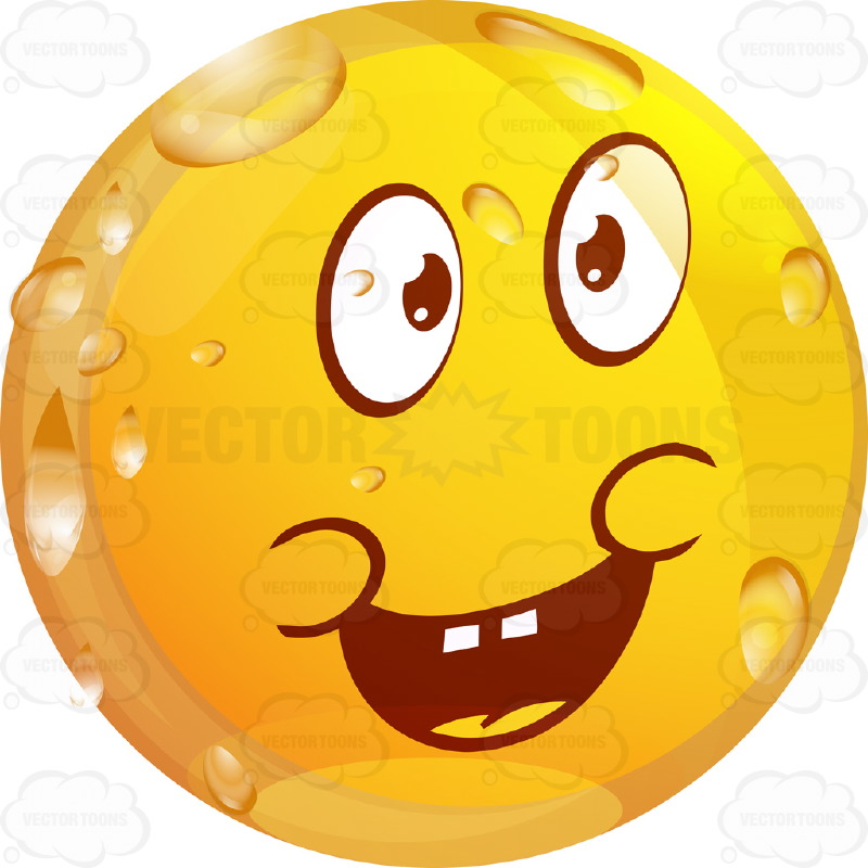 Emotions clipart sorry face Enthusiastic With Emoticon Cartoon Arms