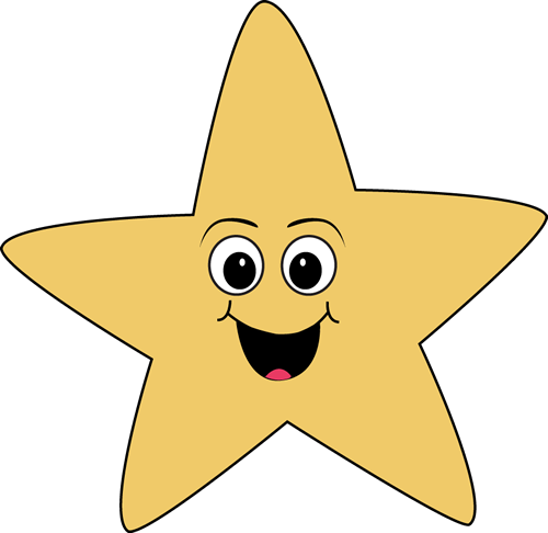 Smiley clipart star Clipart Happy art face clip