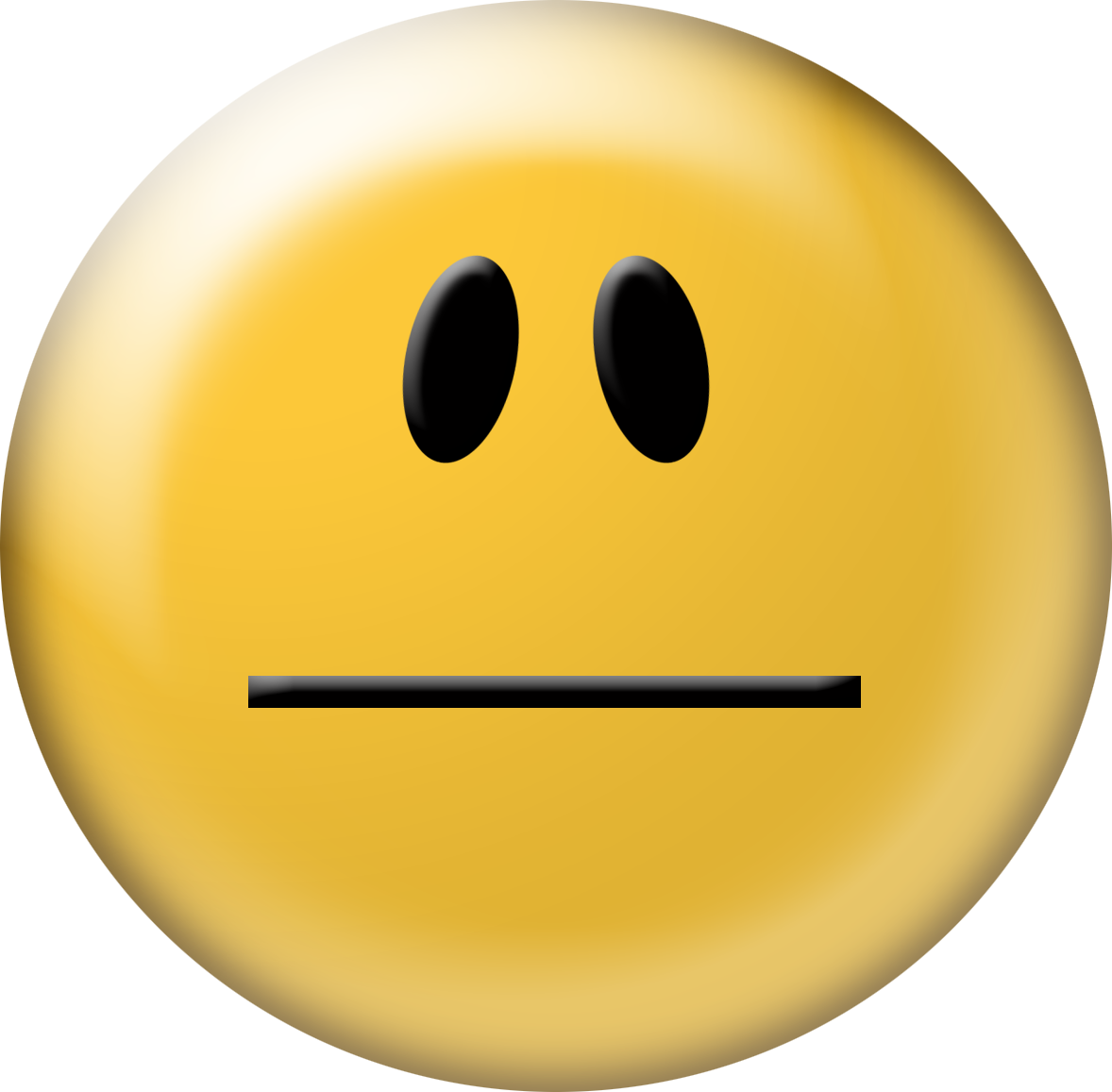 Smileys clipart indifferent Clip Face Free face