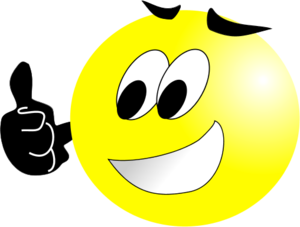Smileys clipart thumbs up Up com emotions faces face