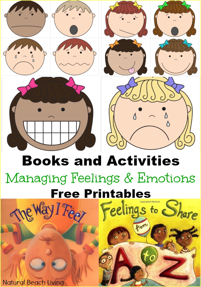 Feeling clipart printable Emotions feelings and Books Emotions