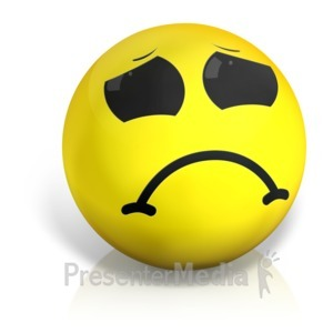 Emotions clipart upset Shake Disappointment Ball Clipart In