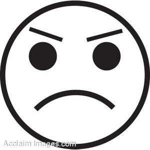 Emotions clipart upset Art Cliparts Angry clip Pie