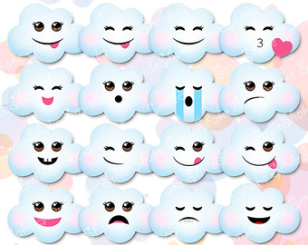 Clouds clipart whimsical Art Kawaii Kawaii 35 clipart