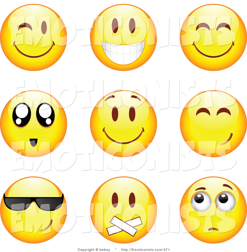Smiley clipart nervous Smiley Clipart Free Clipart Green
