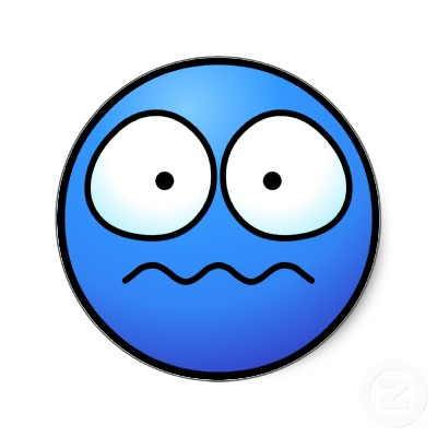 Emotions clipart worried face  Smiley Face Free Free