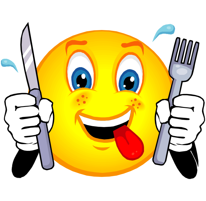 Feelings clipart pleased  Hungry Emoticon SMILEYS Smiley