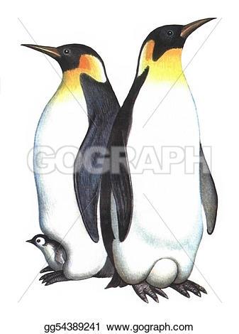 Emperor Penguin clipart Emperor Illustration penguin background emperor