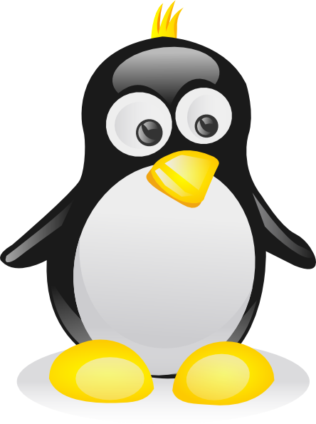 Penguin clipart silly Clip Tux px Penguin feet