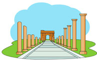 Rome clipart ancient ruin Search Kb Search with for