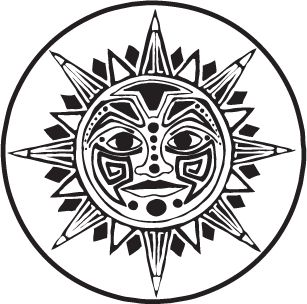 Triipy clipart aztec sun Aztec 72 ClipArt on best