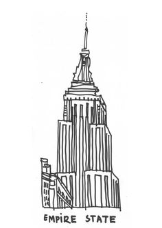 Empire clipart black and white Boort art Building Empire free