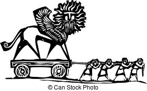 Empire clipart black and white Expressionist Empire 9 Stock Illustrations