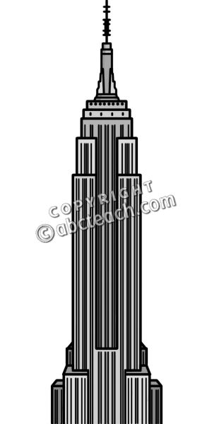 Empire clipart black and white Panda Images State Clip Free