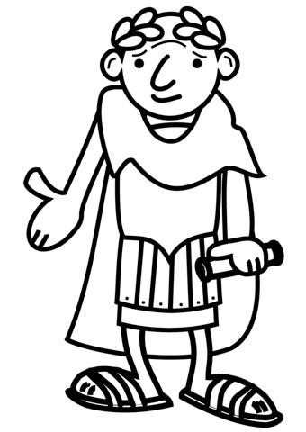 Empire clipart cartoon Emperor Cartoon page Pages Roman