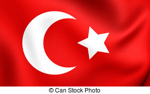 Empire clipart cartoon Flag empire Ottoman Stock